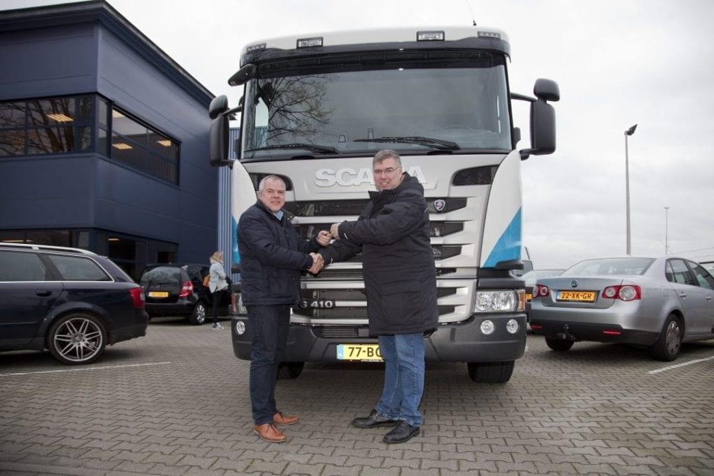 Uitbreiding wagenpark met de Scania G 410 euro 6