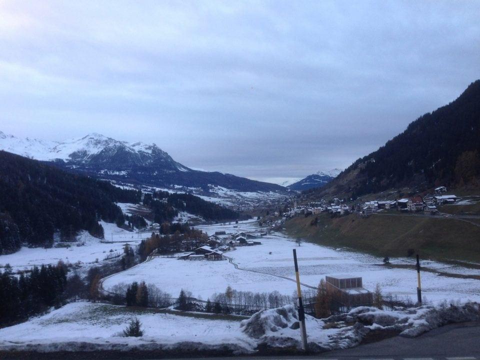 Reisverslag en fotorapportage Sankt Moritz (Zwitserland)