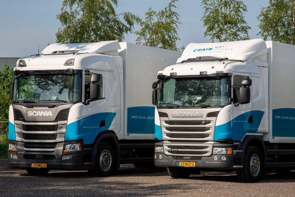 Uitbreiding wagenpark met nieuwe Scania