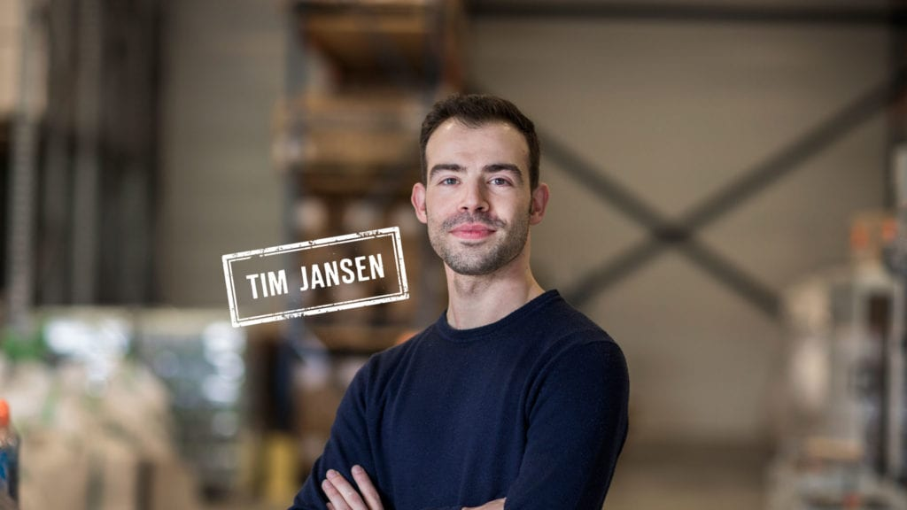 Tim Jansen ádemt Chain Logistics