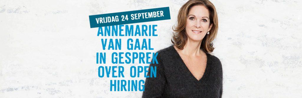 Officiële opening door Annemarie van Gaal | 24 september 2021